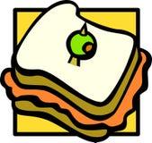 Emparedado Imagen de archivo libre de regalías