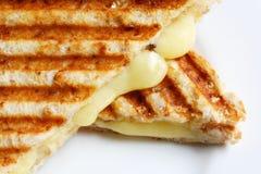 Emparedado asado a la parilla del queso Fotos de archivo