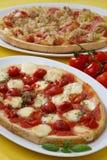 Emparedado cocido al horno de la pizza Fotos de archivo libres de regalías