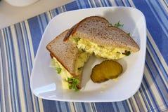 Emparedado de la ensalada del huevo Imagen de archivo