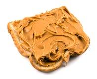 Emparedado de la mantequilla de cacahuete Fotografía de archivo