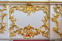 Emparede el museo de ermita del estado del elemento de la decoración, St Petersburg, Russi imágenes de archivo libres de regalías
