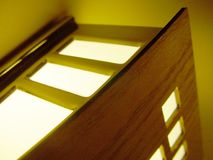 Luz de la pared Fotografía de archivo libre de regalías