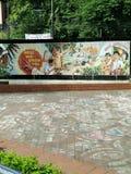 Emparede los posts de la guerra 1971 de liberación de Bangladesh Imágenes de archivo libres de regalías