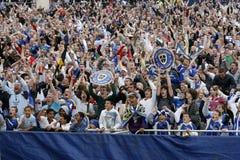 Emparejamiento 2008 del final de la Copa del FA Fotos de archivo libres de regalías