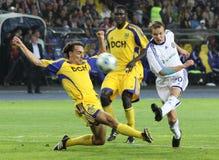 Emparejamiento de fútbol Fotos de archivo