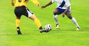 Emparejamiento de fútbol Imágenes de archivo libres de regalías