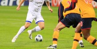 Emparejamiento de fútbol Imagen de archivo