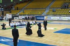 Emparejamiento de Kendo Imagen de archivo