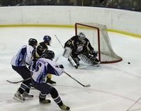 Emparejamiento del hockey sobre hielo Foto de archivo