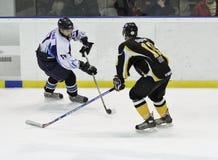 Emparejamiento del hockey sobre hielo Fotos de archivo
