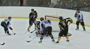 Emparejamiento del hockey sobre hielo Imágenes de archivo libres de regalías