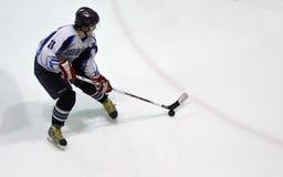 Emparejamiento del hockey sobre hielo Fotografía de archivo