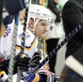 Emparejamiento del hockey sobre hielo de Kharkov- Donbass Imágenes de archivo libres de regalías