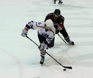 Emparejamiento del hockey sobre hielo de Kharkov- Donbass Imagen de archivo