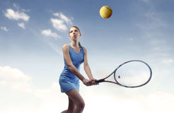 Emparejamiento del tenis Fotografía de archivo libre de regalías