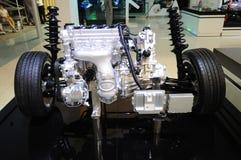 Emparejamientos del motor de gasolina con la transmisión Foto de archivo libre de regalías