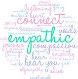 Empathic Word Cloud Stock Photos