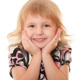 Empathizing Mädchen lizenzfreies stockfoto