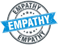 Empathy round grunge stamp Royalty Free Stock Photography