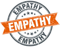 Empathy stamp Royalty Free Stock Photo