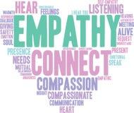 Empathy Word Cloud Stock Photo