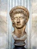 Empeorr Claudius,梵蒂冈博物馆雕象  图库摄影