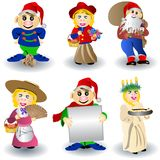 Iconos enanos imagen de archivo libre de regalías