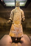 Emper Qin's Terra-cotta warriors and horses Museum Stock Images