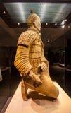 Emper Qin's Terra-cotta warriors and horses Museum Stock Image