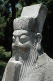 Emperador chino del guarda Imagen de archivo