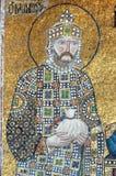 Emperador Constantina IX, Hagia Sofía, Estambul Imagen de archivo libre de regalías