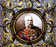Emperador Francisco José I. Imagen de archivo
