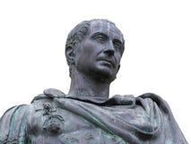 Emperador romano Julio César fotografía de archivo