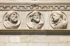 Emperadores romanos Fotografía de archivo libre de regalías