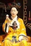 Empereur de femme de Cisi de la Chine Images stock