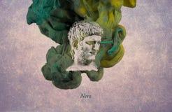 Empereur romain Nero illustration de vecteur
