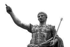 Emperor. Statue of emperor Augustus Ceasar Stock Photo