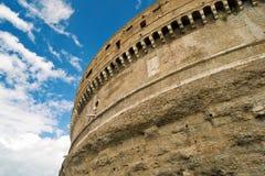 Emperor Adrian's Mausoleum in Rome Stock Photos