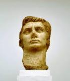 Emperor Augustus, marble sculpture Stock Image