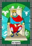The emperor card Stock Photos
