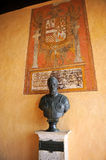 Emperor Charles V in the Monastery of Yuste, province of Caceres, Spain Royalty Free Stock Images