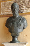 Emperor Charles V in the Monastery of Yuste, province of Caceres, Spain Stock Photo