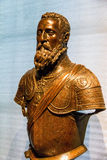 Emperor Charles V sculpture by Leone Leoni, 1554-6 Royalty Free Stock Image
