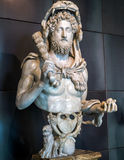 The emperor Commodus as Hercules, Capitoline Museum, Rome Royalty Free Stock Image