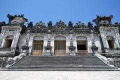 Emperor Dinh Tomb vietnam Stock Image