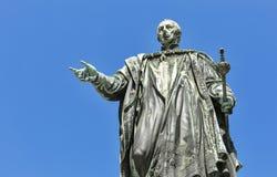 Emperor Francis II statue closeup in Graz, Austria Royalty Free Stock Photo