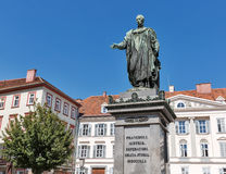 Emperor Francis II statue in Graz, Austria Stock Photo