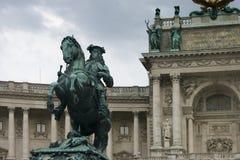 Emperor Franz I. Memorial to Emperor Franz I of Austria royalty free stock images