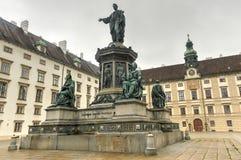 Emperor Franz I, Hofburg Palace Courtyard - Vienna, Austria Royalty Free Stock Image